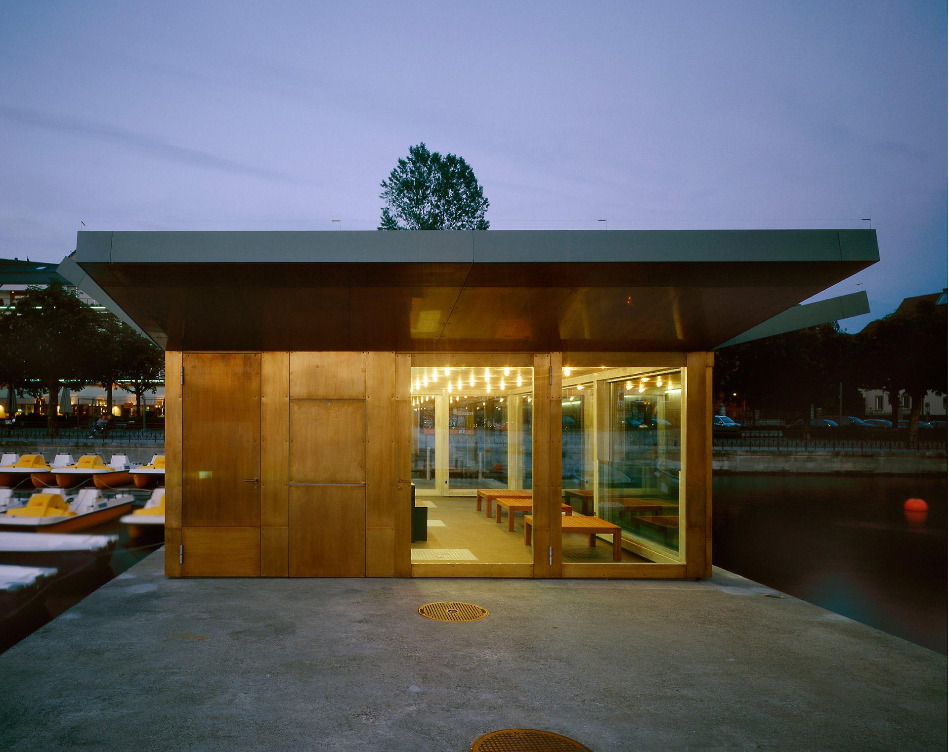 corporate design der kleinbauten der stadt z rich bootsvermietungen stoosarchitekten. Black Bedroom Furniture Sets. Home Design Ideas